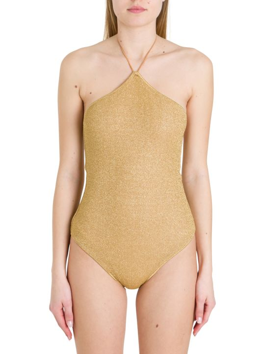 Oseree Lurex One-piece Swisuit