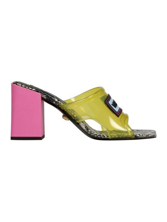 Versace Snake Sandals