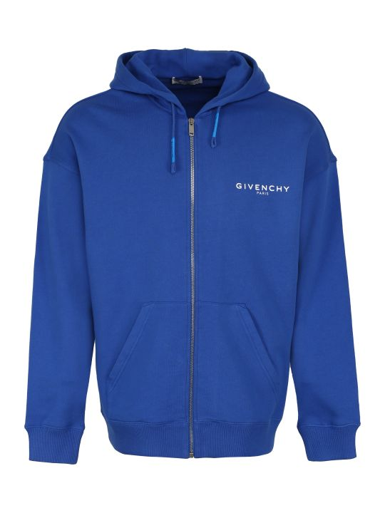Givenchy Cotton Full Zip Hoodie