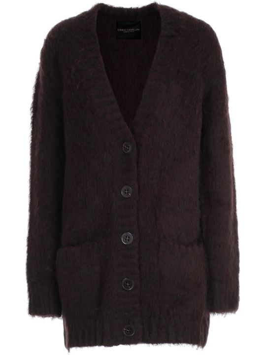 SEMICOUTURE Cardigan Over Mohair