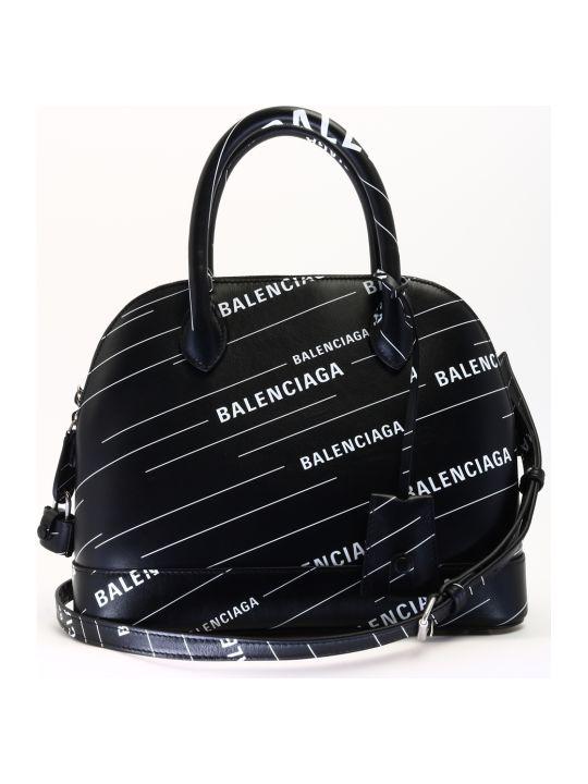 Balenciaga Ville Bag S Black