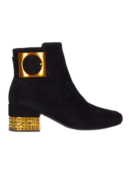 Jeffrey Campbell Suede Ankle Boots