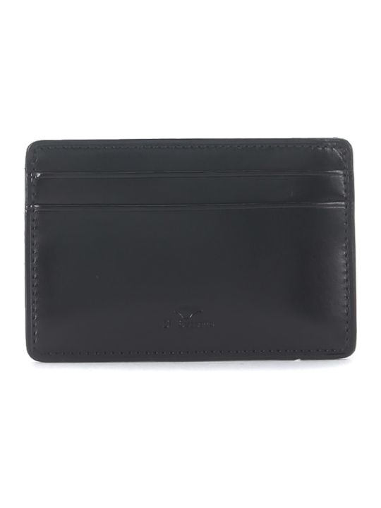 Il Bussetto Black Tuscan Leather Document Holder