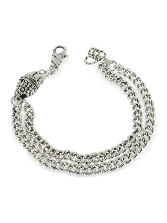 GIACOMOBURRONI Giacomo Burroni Etruscan Double Chain Bracelet