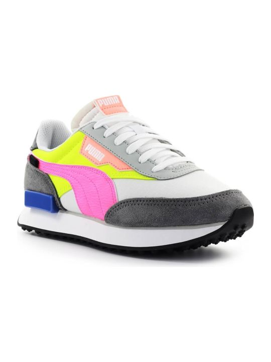 Puma Fuchsia Fluo Yellow Future Rider Play Sneaker