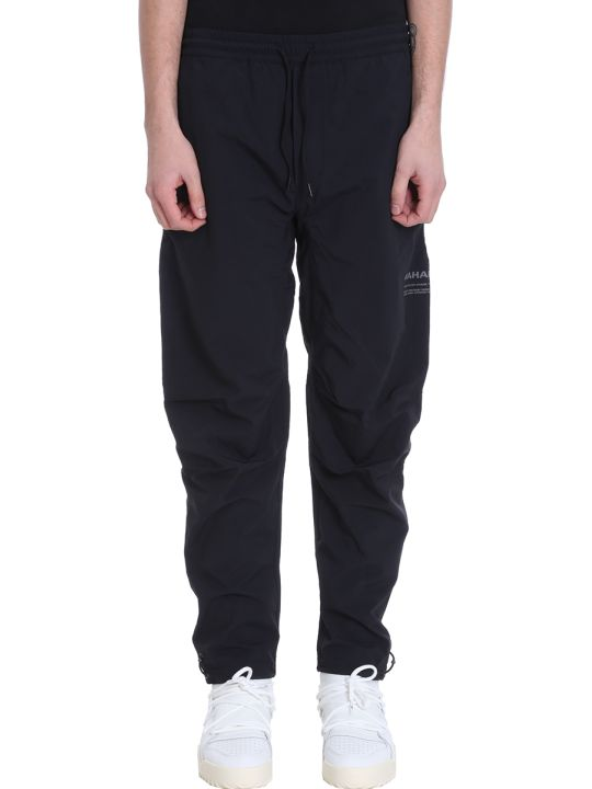Maharishi Black Cotton Trousers