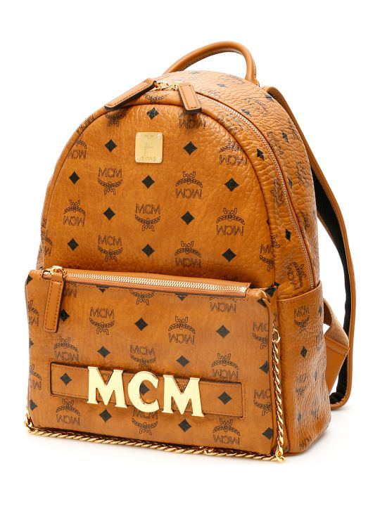 MCM Trilogie Stark Visetos Backpack