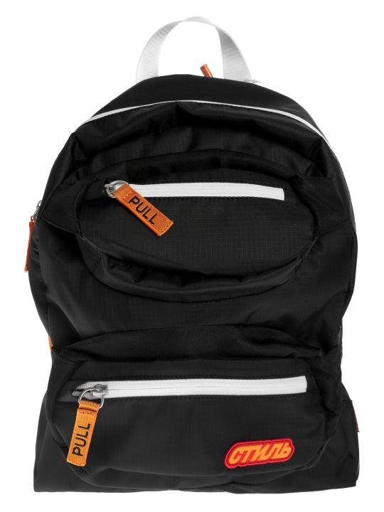 HERON PRESTON Pocket Detail Backpack