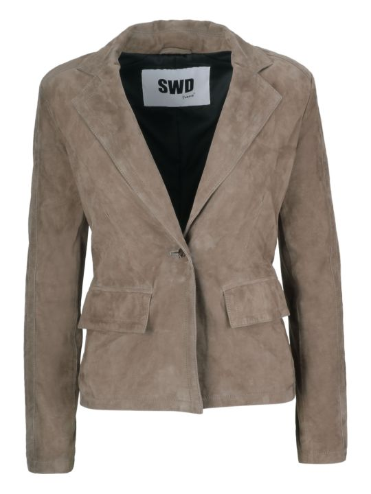 S.W.O.R.D 6.6.44 S.w.o.r.d 6.6.4.4. Single Breasted Blazer