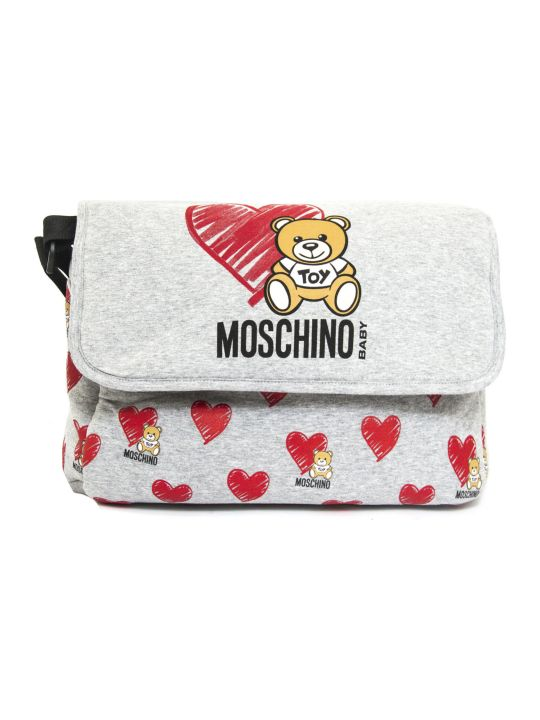 Moschino Cotton Changing Bag & Changing Mat