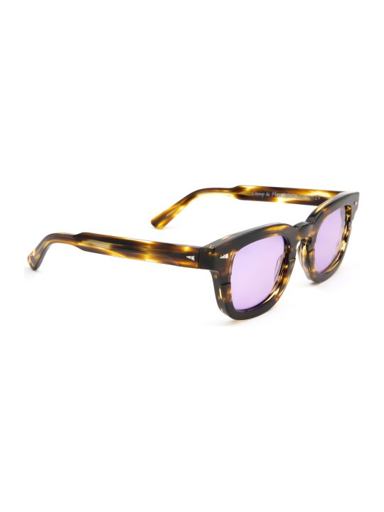 AHLEM Ahlem Champ De Mars Yellow Lines Sunglasses
