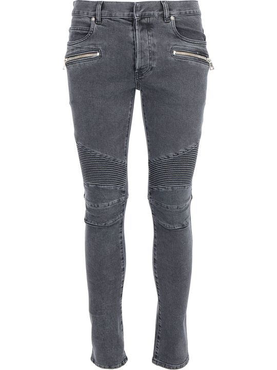 Balmain Slim Ribbed Jeans