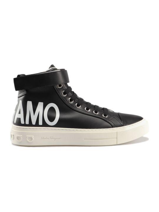 Salvatore Ferragamo Ayr 2 Hi-top Sneakers
