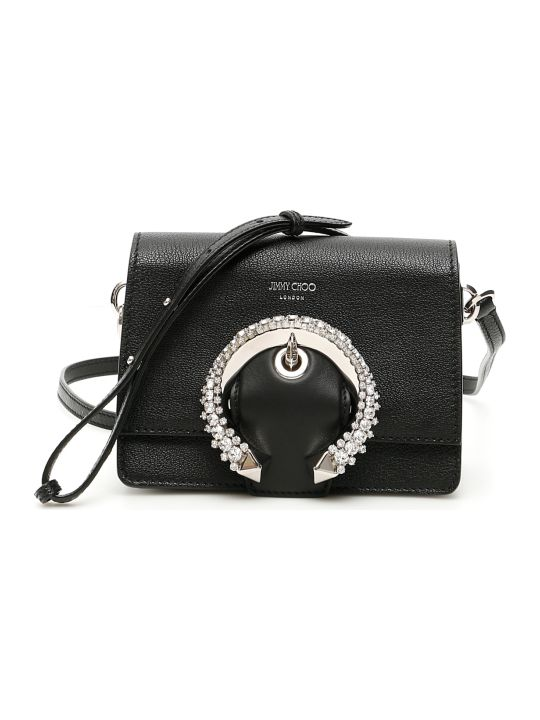 Jimmy Choo Crystal Buckle Small Madeline Bag
