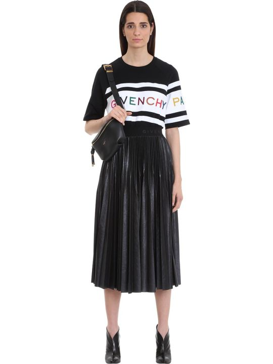 Givenchy Multicolored Embroidered Givenchy Paris T-shirt