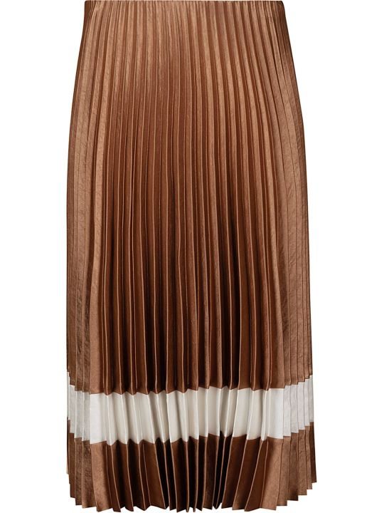 Theory Mid-length Pleated Dress
