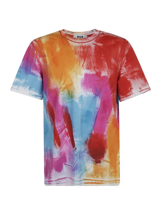 MSGM Painted T-shirt