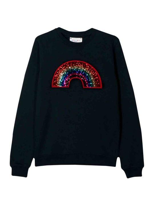 Alberta Ferretti Teen Black Sweatshirt