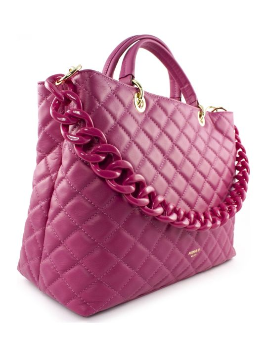 Avenue 67 Violante Bag In Fuchsia Leather
