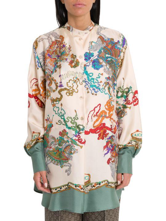 Gucci Roi Soleil Printed Shirt
