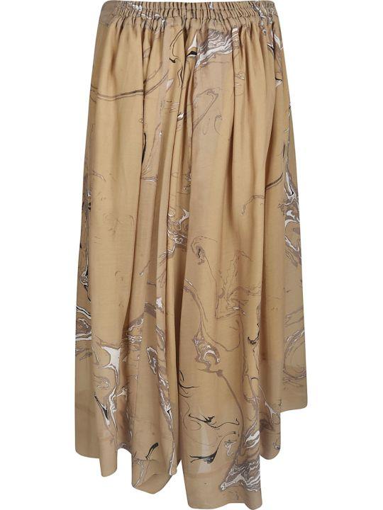 Y's Rib Printed Skirt
