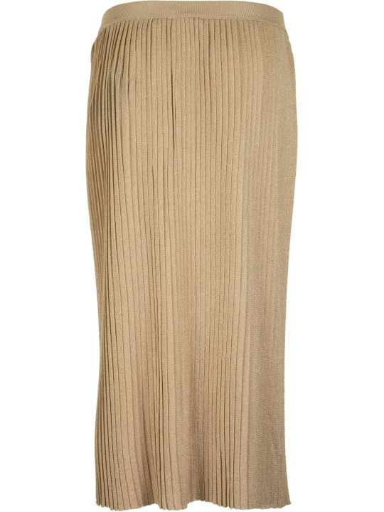 Elisabetta Franchi Celyn B. Pleated Skirt With High Waist