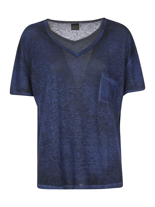 Avant Toi Loose V-neck T-shirt