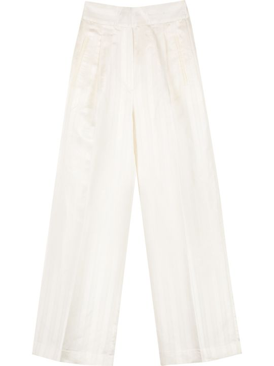 Jucca High-waist Wide-leg Trousers