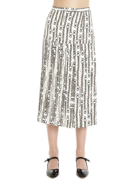 Salvatore Ferragamo 'chain' Skirt