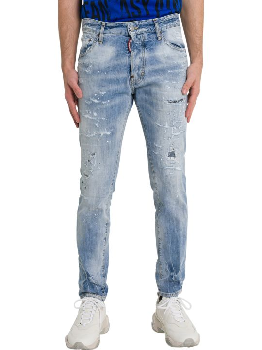 Dsquared2 Light Piranha Cigarette Jeans