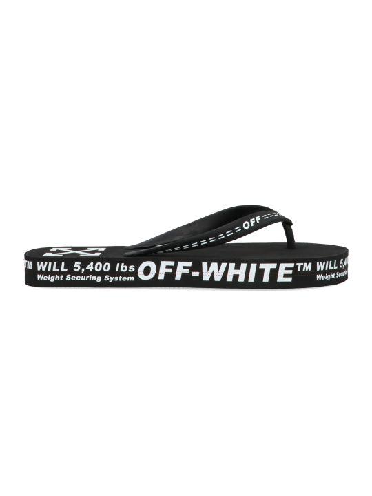 Off-White 'black No Color' Shoes
