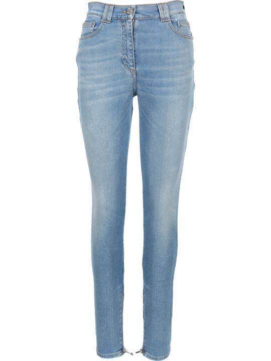 Balmain Hight Waist Skinny Denim Jeans