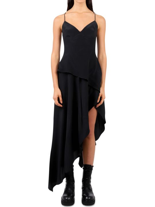 AMIRI Black Asymmetric Dress