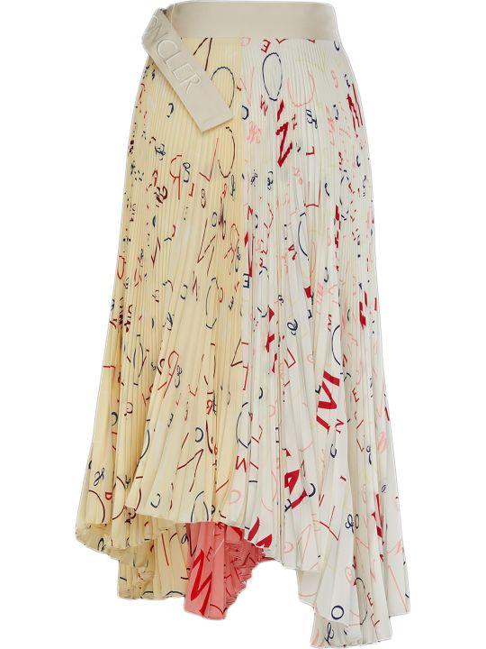 Moncler Genius Printed Skirt