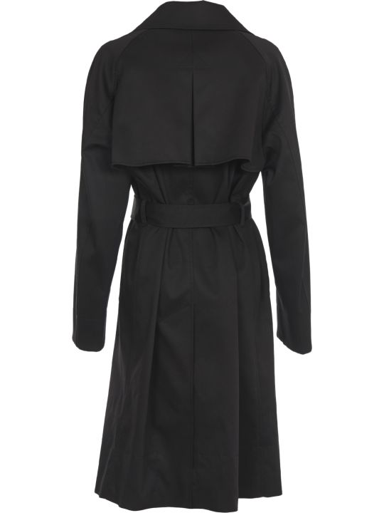 N.21 Black Cottone Trench