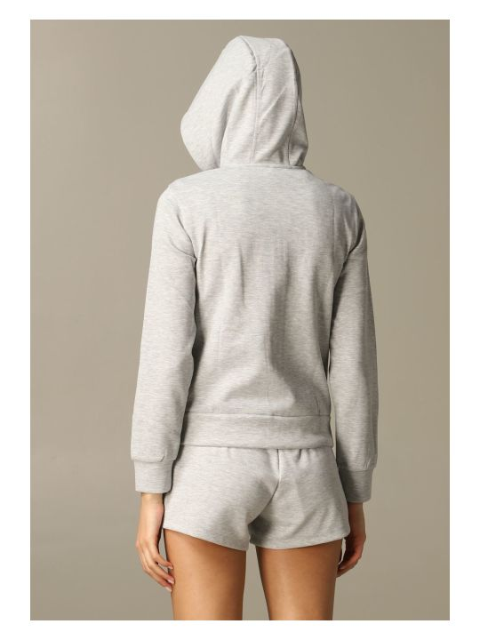 Armani Collezioni Armani Exchange Sweater Armani Exchange Sweatshirt With Hood And Zip