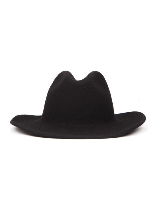 Coccinelle Black Bridget Wool Hat