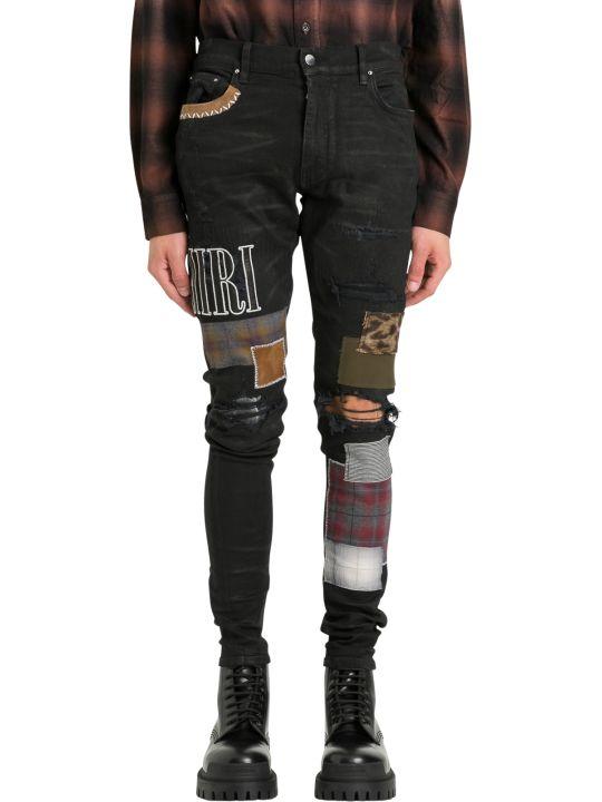 AMIRI Grunge Patch Jeans