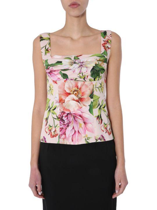 Dolce & Gabbana Floral Pattern Top