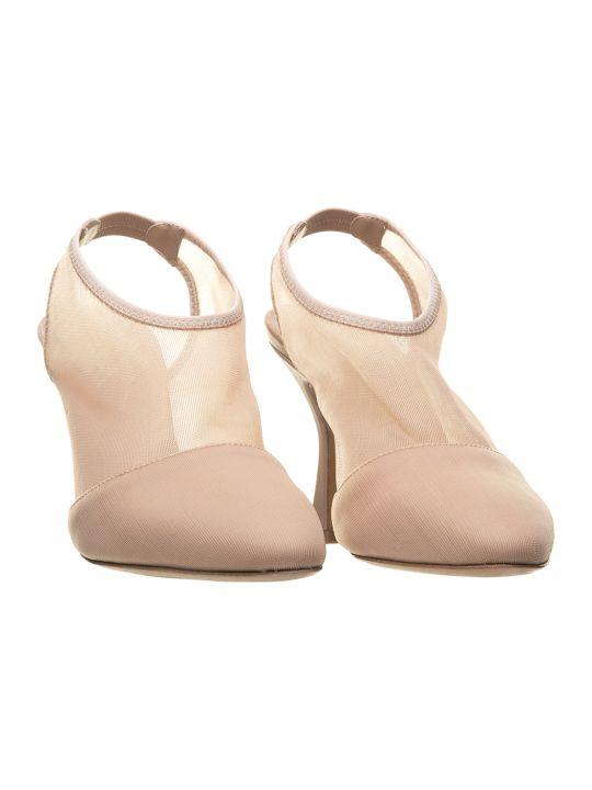 Vic Matié Vic Matié Nude Mesh Open-back Shoes