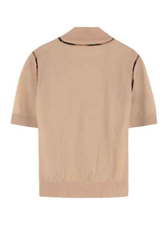 Fendi Open-knit Top