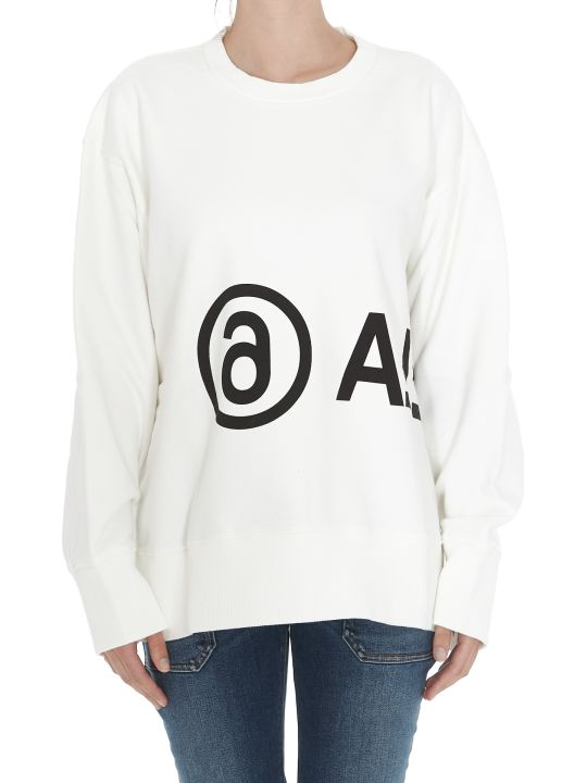 MM6 Maison Margiela Logo Sweatshirt