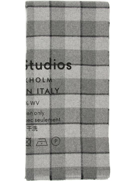 Acne Studios Checked Scarf