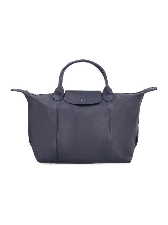 Longchamp Le Pliage Cuir Tote Bag