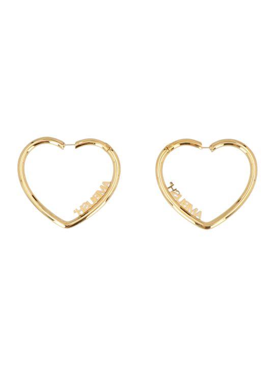 AMBUSH 'heart Hoop' Earrings