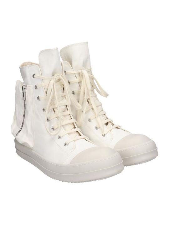 DRKSHDW Bauhaus Sneaks Sneakers In White Tech/synthetic