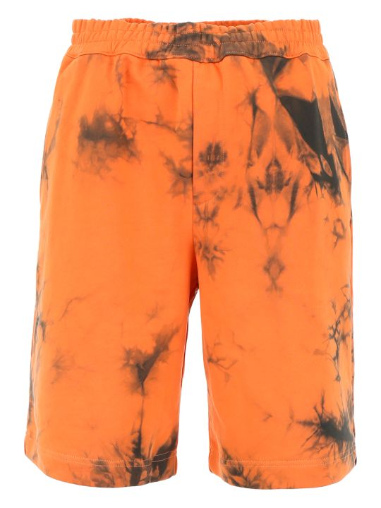 Helmut Lang Tie Dye Bermuda Shorts