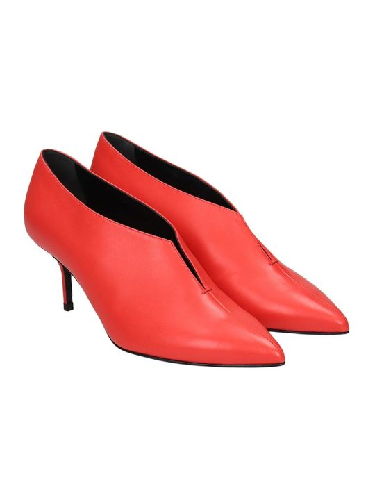 Pierre Hardy Secret Pump 60 Pumps In Red Leather