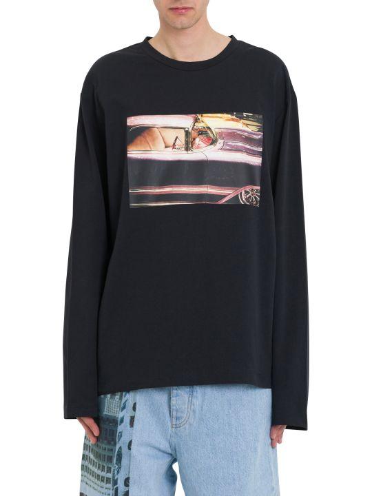 Calvin Klein Jeans Ec Graphic Printed Sweatshirt