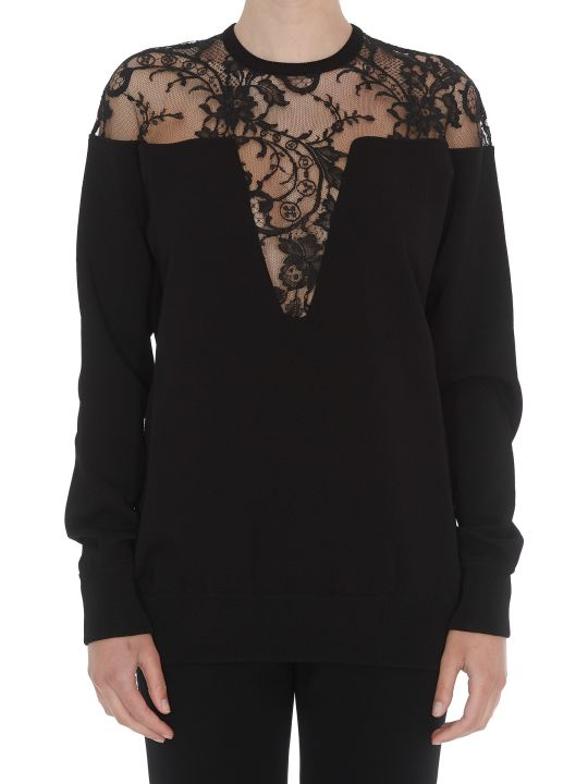 Givenchy Lace Detail Sweater